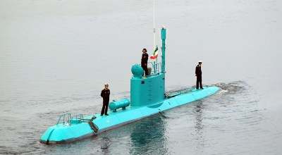 Iran attempts sub-launched missile test