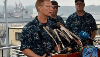 U.S. 7th Fleet Commander praises heroism of Fitzgerald's crew after collision with merchant vessel