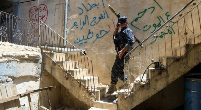 Mosul's Old City waits for salvation amid 'death, death, death'
