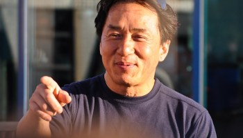 Jackie Chan tempers anti-U.S. rhetoric long enough to sell you tickets to his new movie