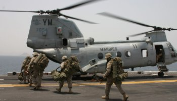 Marine Expeditionary Unit (Special Operations Capable) | A Marine's reflection