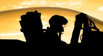 Picture of the Day: F-15 Pilot Prepares for Early Evening Flight