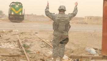 Riding the Iraqi Railroad with the US Army