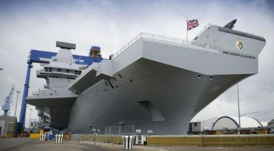 UK launches its newest, biggest carrier ever: How does it stack up against other nations' carriers?