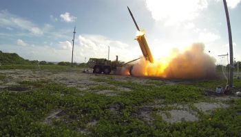 Missile Defense Agency conducts successful THAAD missile intercept test over Alaska