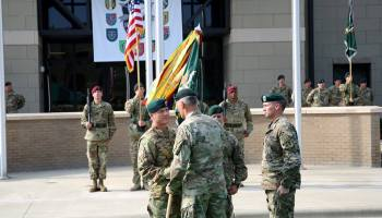 MG Beaudette Takes Over as New Head of 1st Special Forces Command