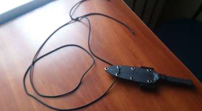 My alternative knife concealment method