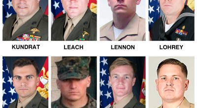 Here are the names and photos of the 15 Marines and sailor who died in Mississippi plane crash
