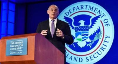 Homeland Security chief says administration is just 'enforcing the law' on immigration
