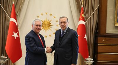 U.S.'s Tillerson praises Turkish 'courage' during coup attempt