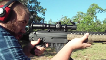 Bushnell AK Optic Review – Dropping rounds and targets