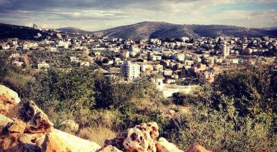 A new Jewish settlement begins to rise in the West Bank
