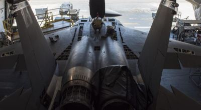 US Air Force Maintainers Work 24/7 Keeping F-15 Strike Eagles Ready to Fly