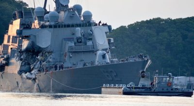 Defense official: Crew of the USS Fitzgerald to blame for cargo ship collision