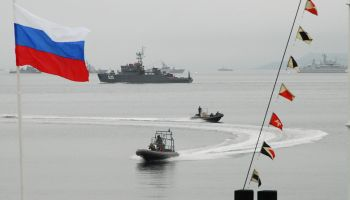Russia Celebrates Navy Day with Parades, Including in Syria