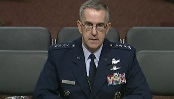STRATCOM commander talks the need for nuclear like deterrents to modern conventional threats