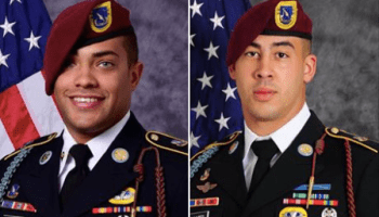 Department of Defense identifies the two soldiers killed in Afghanistan