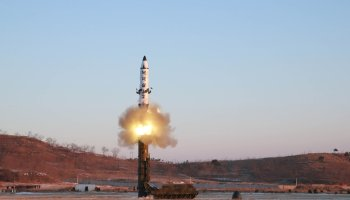 North Korea launches volley of missiles into the sea amid joint U.S./South Korean drills