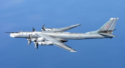 Russia flies nuclear capable bombers, fighters past joint U.S./South Korean military exercises