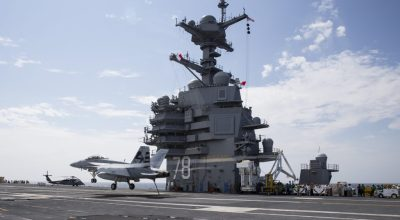 USS Gerald R. Ford Suffers Propulsion System Bearing Failure at Sea – Returns to Port for Repairs