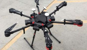 Drone spotted flying over the border from Mexico carrying 13 pounds of meth