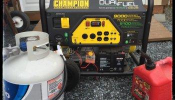 Disaster preparedness | Get a generator