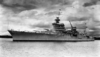 The ship that delivered the A-Bomb: Billionaire Paul Allen announces the discovery of the USS Indianapolis wreckage