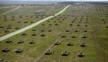 As Russian military drills near NATO border approach, Germany accuses Russia of sending as many as 100,000 troops