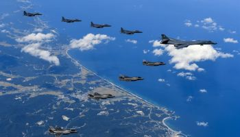 U.S. planes join South Korean, Japanese fighters in live fire show of force on Korean peninsula