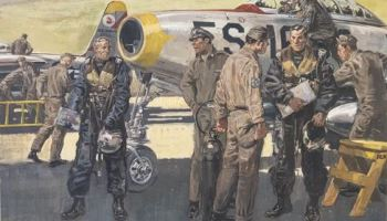 70th Birthday of the U.S. Air Force artwork