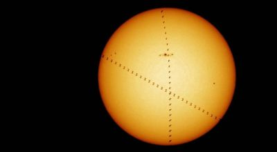 Bird and International Space Station Make for Amazing Picture of the Sun