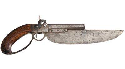 Weird Gun Wednesday: Elgin Cutlass Pistol