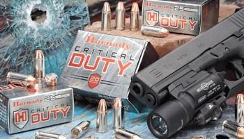 FBI Awards Hornady a Contract for Its Critical Duty Ammunition