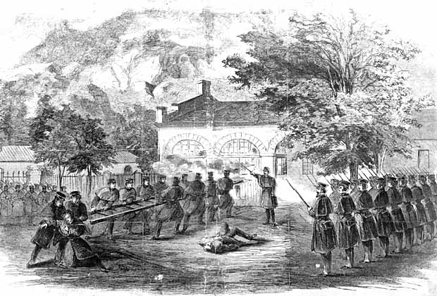 John Brown Civil War Harpers Ferry Signed Letter Print