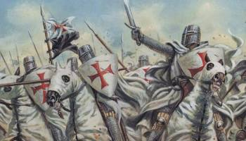 Friday the 13th, 1307, the Knights Templar are arrested and executed