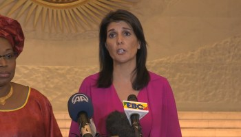 Nikki Haley: Africa's Violence Could Become US Security Problem