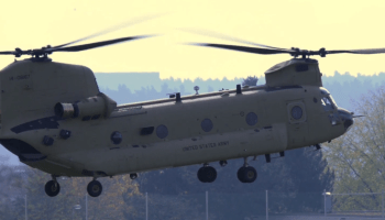 Watch: U.S. Army CH-47 Chinook helicopter from the 2-227th Aviation Regiment