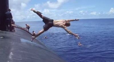Watch: US Navy submariners have a unique way of blowing off steam