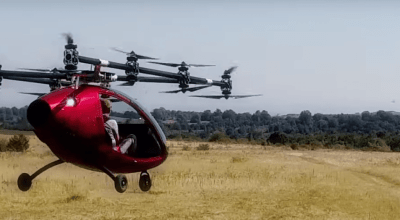Watch: Take a ride on the first flight of the 'Passenger Drone'