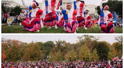 Thousands of Karen people gather in DC, simply 'thankful to be here'