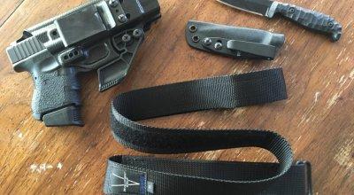 V Development Group Megingjörð concealed carry belt