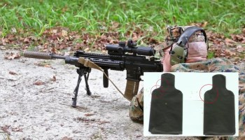Watch: Marine Corps Gunner explains when to use automatic versus semi-automatic fire