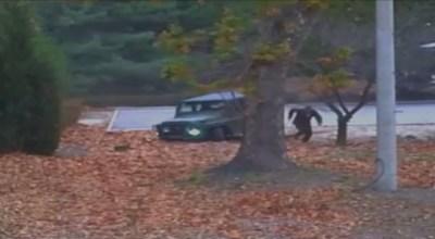 Dramatic new footage shows North Korean soldiers violating armistice, pursuing defector into South Korea