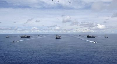 Massive 3-carrier show of force could help restore the US Navy's reputation in the Pacific