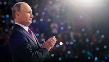 The world's most popular mass murderer: Putin announces re-election bid