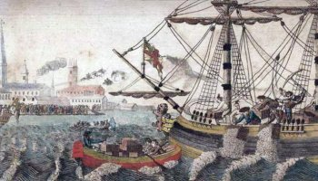December 1773: The Boston Tea Party set Colonial rebellion in motion