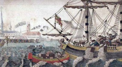 Boston Tea Party, December 1773, Set in Motion Rebellion in the Colonies