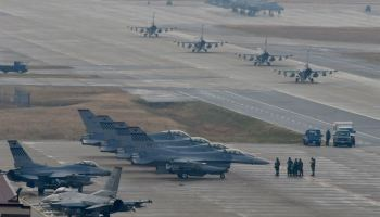 United States and South Korea begin massive air exercises