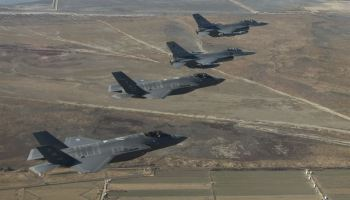 Watch: Air Force F-35A Lightning II Takes Off from Kunsan Air Base