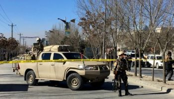 Suicide Bomber Kills Dozens In Afghan Capital of Kabul